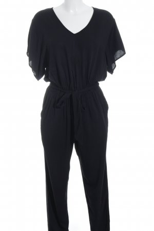 Hallhuber Jumpsuit schwarz Street-Fashion-Look