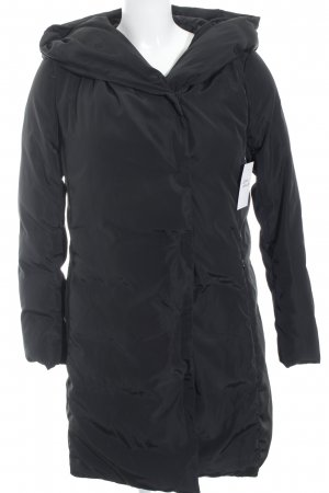 Hallhuber Hooded Coat black casual look