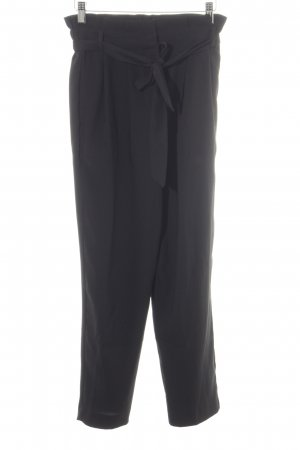 Hallhuber Peg Top Trousers black elegant