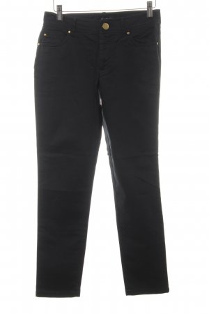 Hallhuber Pantalone peg-top nero stile casual