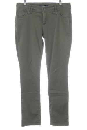 Hallhuber Pantalon kaki kaki style classique