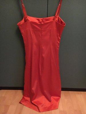 Hallhuber Kleid, Abendkleid, Partykleid, Kupfer, glänzend