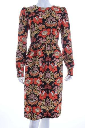 Hallhuber Kleid florales Muster Hippie-Look