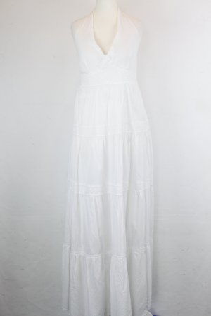 Hallhuber Kleid Gr. 36 weiß (18/5/056)