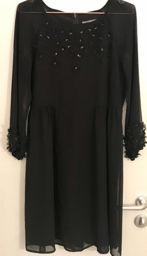 Hallhuber Chiffon jurk zwart