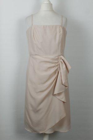 Hallhuber Kleid Midikleid Cocktailkleid Gr. 38 nude