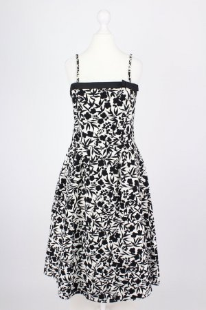 Hallhuber Kleid mit Blumenmuster creme Größe 38