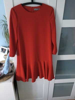 Hallhuber Kleid rot
