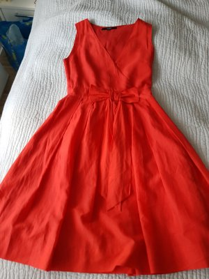 Hallhuber Kleid rot 36/38