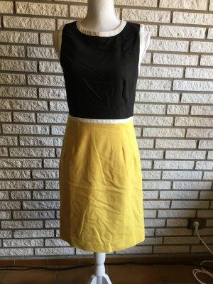 Hallhuber Kleid schwarz gelb