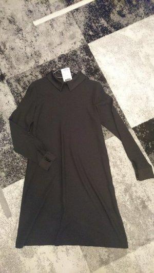 Hallhuber Kleid schwarz mit Kragen Gr. 38