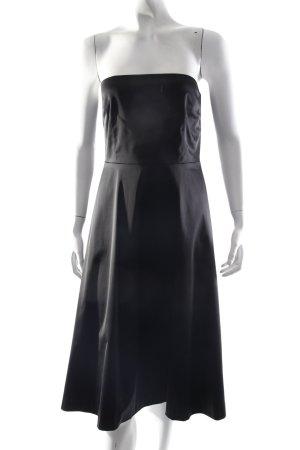 Hallhuber Korsagenkleid schwarz