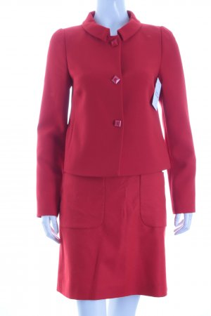 Hallhuber Kostüm rot Casual-Look