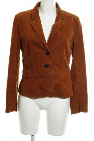 Hallhuber Short Blazer cognac-coloured business style