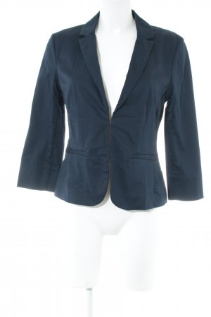 Hallhuber Kurz-Blazer blau Business-Look