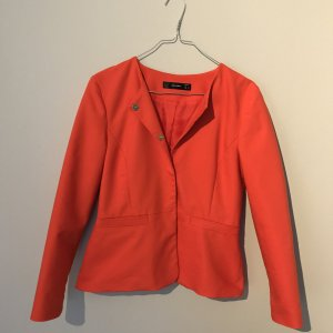 HALLHUBER Kurz-Blazer orange-rot