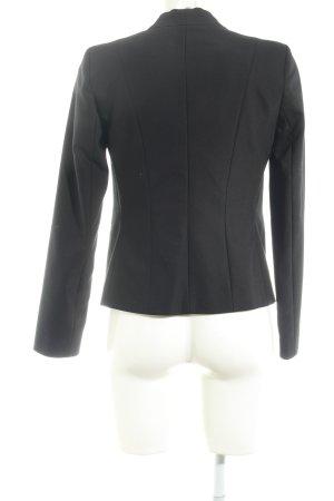 Hallhuber Kurz-Blazer schwarz Elegant