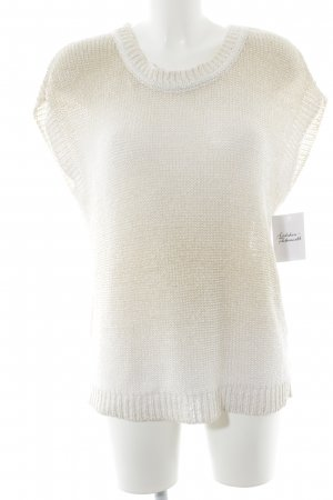 Hallhuber Short Sleeve Sweater gold-colored-cream casual look