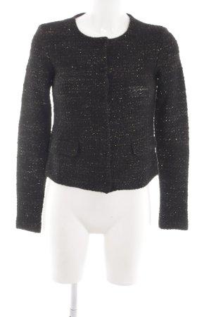 newest collection 799ab 67986 Hallhuber Giacca corta nero-oro puntinato elegante