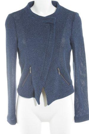 Hallhuber Kurzjacke dunkelblau Street-Fashion-Look