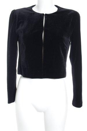 Hallhuber Kurzjacke schwarz Elegant