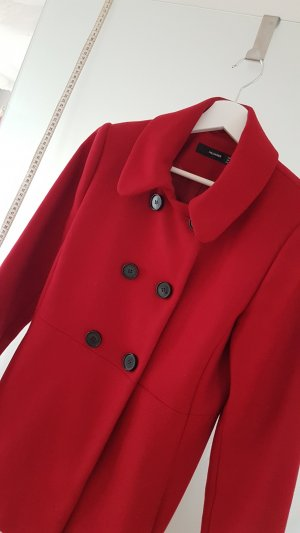 Hallhuber Short Coat dark red