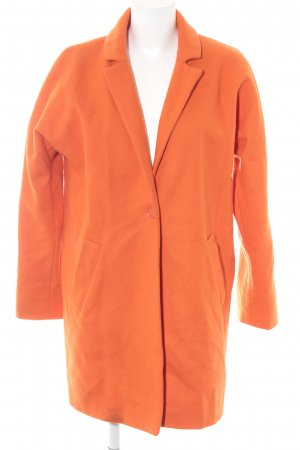 Hallhuber Short Coat neon orange extravagant style