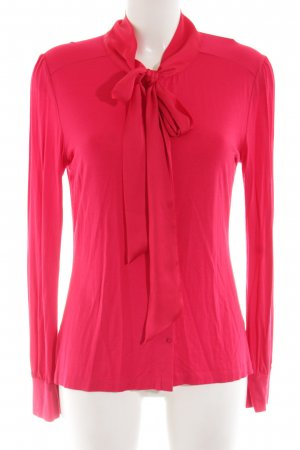 Hallhuber Langarm-Bluse rot Elegant