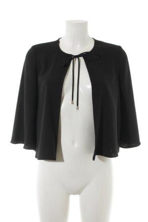 Hallhuber Langarm-Bluse schwarz