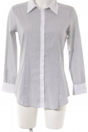 Hallhuber Long Sleeve Blouse black-white striped pattern casual look