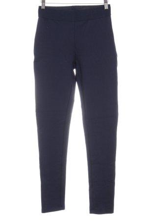 Hallhuber Leggings dunkelblau Casual-Look