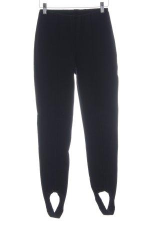 Hallhuber Leggings schwarz schlichter Stil