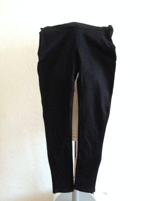 Hallhuber Leggings negro Algodón