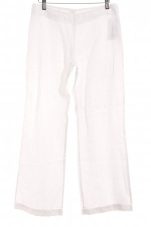 Hallhuber Linen Pants natural white simple style