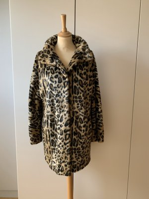 Hallhuber Fake Fur Coat multicolored