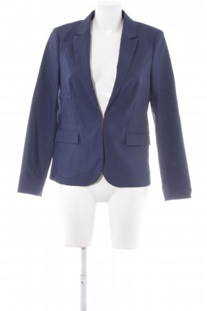 Hallhuber Long-Blazer dunkelblau Business-Look
