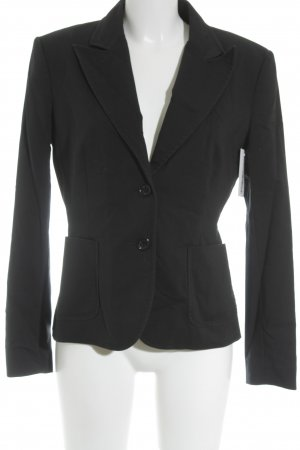 Hallhuber Long-Blazer schwarz Business-Look