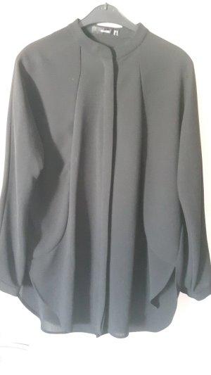 Hallhuber Longbluse schwarz Gr. 38