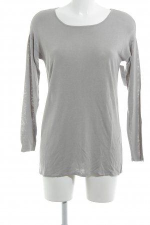 Hallhuber Long Sweater light grey casual look