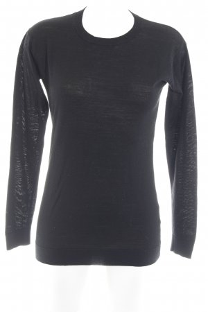 Hallhuber Long Sweater black casual look