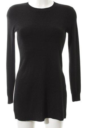 Hallhuber Long Sweater black casual look