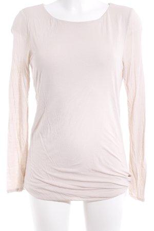Hallhuber Longshirt creme Casual-Look