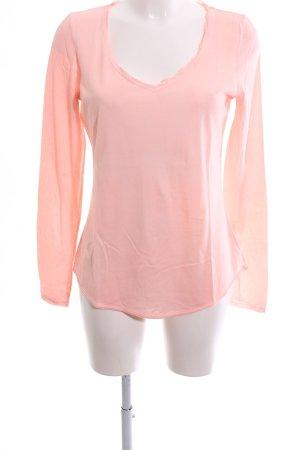 Hallhuber Longsleeve pink Casual-Look