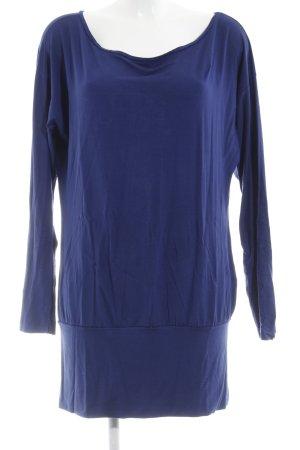 Hallhuber Longsleeve blau Casual-Look