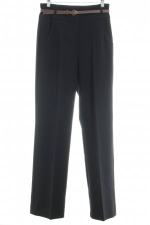 Hallhuber Marlene Trousers black business style