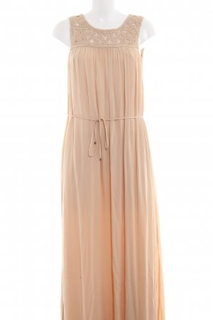 Hallhuber Maxi Dress beige casual look