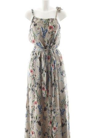 Hallhuber Maxi-jurk bloemenprint casual uitstraling