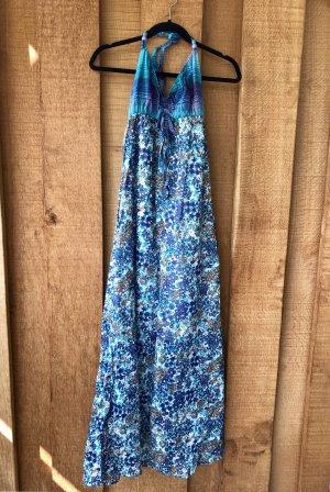 Hallhuber Maxikleid/Sommerkleid blau Gr. 36