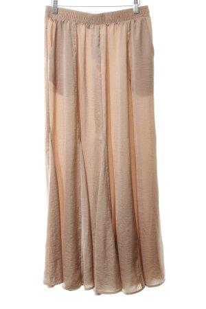 Hallhuber Maxi Skirt beige street-fashion look