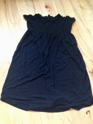 Hallhuber Mini Kleid oder Longtop schwarz Gr.2 36 38